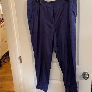 Awesome purple Aladdin pants size 14 LOFT